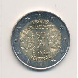 2€ France 2013 - 50 ans Traité de l'élysée