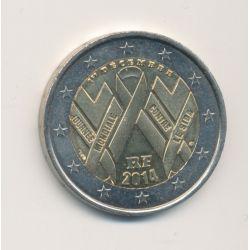 2€ France 2014 - journée mondiale contre le sida