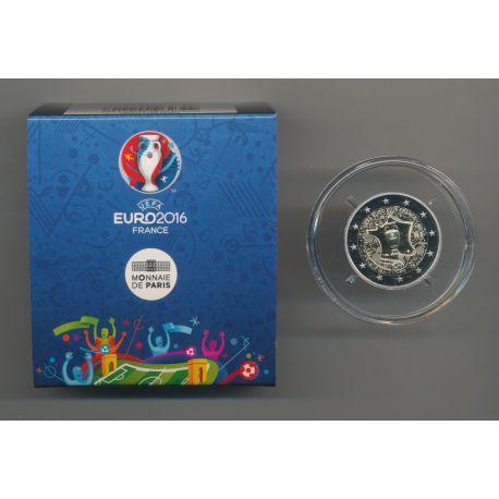2 Euro 2016 - UEFA Euro Football - le penseur - Belle épreuve
