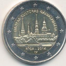 2€ Lettonie - 2014 - Riga