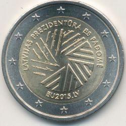 2€ Lettonie - 2015 - Présidence Lettone UE