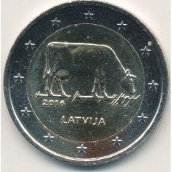 2€ Lettonie - 2016 - industrie agricole Lettone