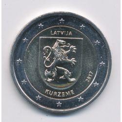 2€ Lettonie - 2017 - kurzeme