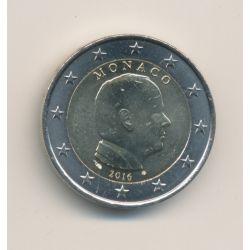 2€ Monaco 2016 - Prince Albert II