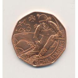 5€ Autriche 2013 - Championnat du monde de ski alpin