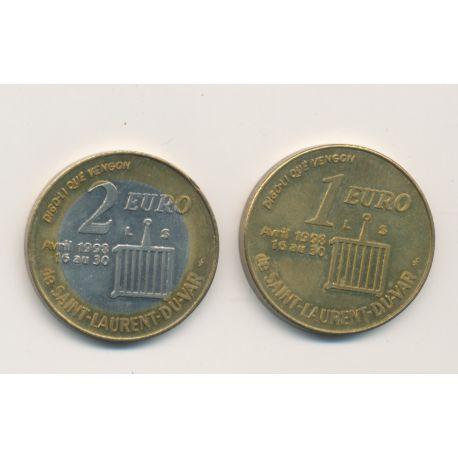 Lot 1 et 2 Euro 1998 - St Laurent du var