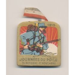 Insigne de Journée 1914-1918 - Journée du poilu 1915