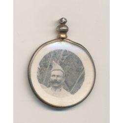 Médaillon soldat poilu - 1914-1918