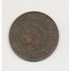 2 centimes Cérès - 1892 A Paris