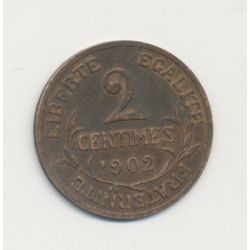 2 centimes Dupuis - 1902