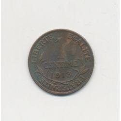1 Centime Dupuis - 1913