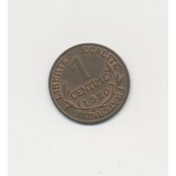 1 Centime Dupuis - 1920