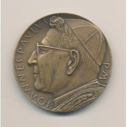 Médaille - Jean Paul I - 1978 - bronze