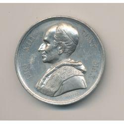 Médaille - Léo XIII - étain - 1900