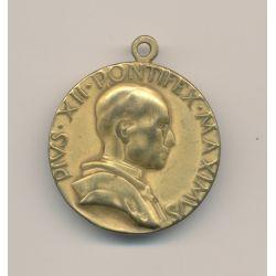 Médaille - Pius XII - 1950 - bronze