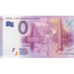 Billet Les champs élysées 2015 - Paris