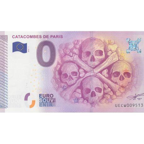 Billet Catacombes 2015 - Paris