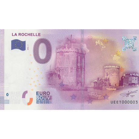 Billet Tours La Rochelle 2016 N°000003