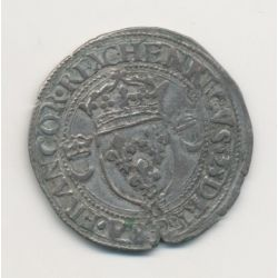 Henri II - Douzain aux croissants - 1550 M Toulouse