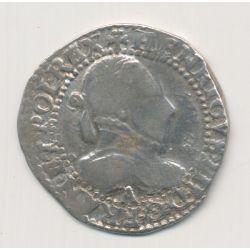 Henri III - 1/2 Franc - 1587 A Paris