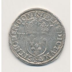 Louis XIV - 1/4 écu - 1644 F Angers