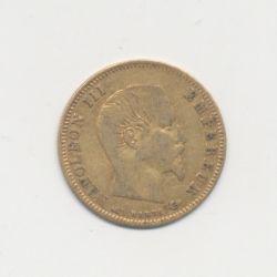 Napoléon III Tête nue - 5 Francs Or - 1857 A Paris