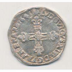 Louis XIV - 1/4 écu - 1645 L Bayonne
