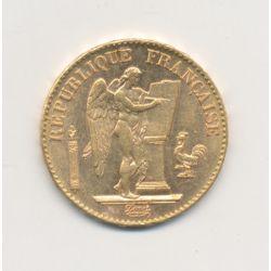Génie - 20 Francs Or - 1895 A