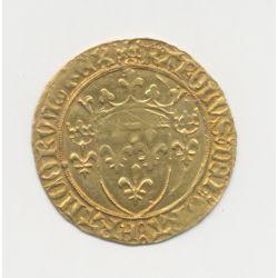 Charles VII - Écu d'or à la couronne - St Lo