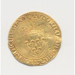 Louis XII - Écu d'or au soleil - Lyon