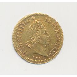 Louis XIV - 1/2 Louis d'or aux 8L et aux insignes - 1701 A