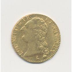 Louis XVI - Louis d'or à la tête nue - 1787 A