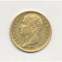 Napoléon empereur - 20 Francs Or - 1807 A Paris