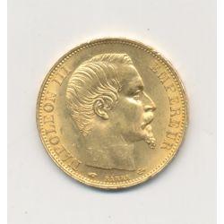 Napoléon III - 20 Francs Or - 1860 A Paris - Tête nue
