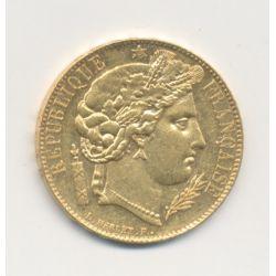 Cérès - 20 Francs Or - 1850 A Paris