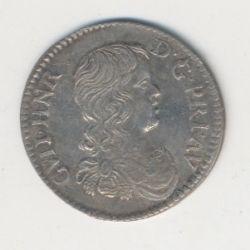 Guillaume-Henri de Nassau - 1/12 écu 1661