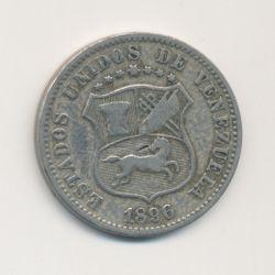 Vénézuéla - 12 1/2 Centimos - 1896