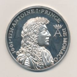 Médaille - Antoine I - Prince de monaco - argent