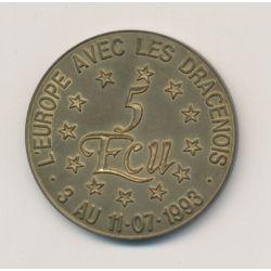 5 Ecu - Draguignan - 1993