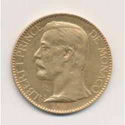 Monaco - 100 Francs Or - 1895 A - Albert I
