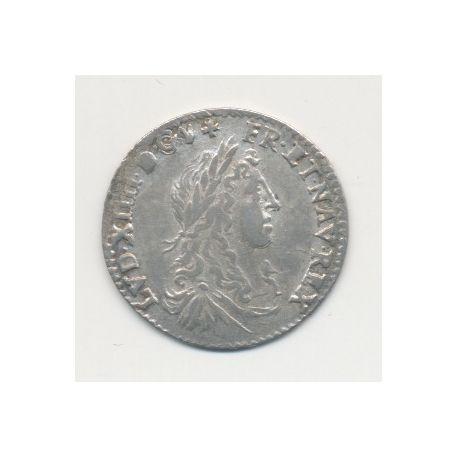 Louis XIV - 1/12 écu du dauphiné - 1660 Z Grenoble