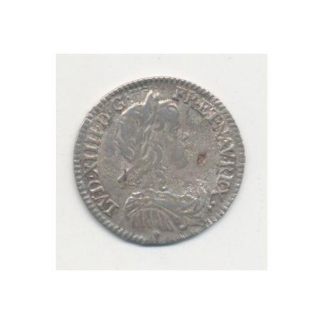 Louis XIV - 1/12 écu mèche longue - 1659 Aix