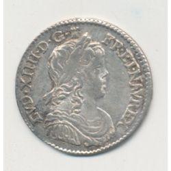 Louis XIV - 1/12 écu mèche longue - 1660 I Limoges