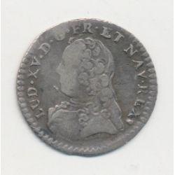 Louis XV - 1/20 écu aux branches d'olivier - 1727 S Reims