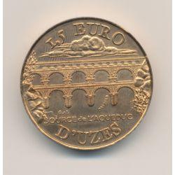 Piéfort - 1,5 Euro - Uzès - 1997