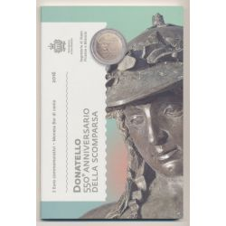 St marin - 2 Euro - 2016 - 550ème anniversaire de la mort de Donatello