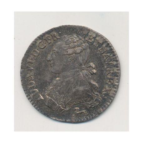 Louis XVI - 1/5 écu - 1786 R Orléans