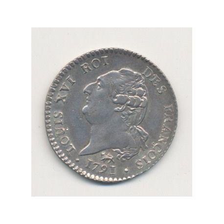 Louis XVI - 15 Sols - 1791 A Paris