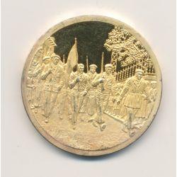 Médaille - Collection Résistance française - 1939/1945 - N°1