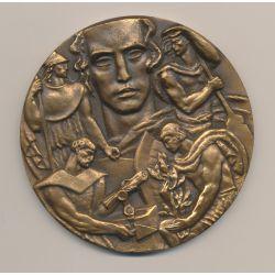 Médaille - Maçonnique ? - graveur Delamarre - Bronze